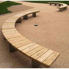 Small Picture The 25 best Curved outdoor benches ideas on Pinterest Wood