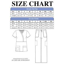 scrub size materialgirl womens scrub set stretch eversoft mock wrap pants