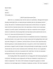 apush american revolution essay question gedney nicole 2 pages apush american revessay2