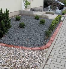 Gartengestaltung Kies Buchsbaum