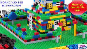 Mua ở đâu Bộ xếp hình Lego 1000 chi tiết cho bé giá rẻ nhất - Hoàng Văn  Phi. - YouTube