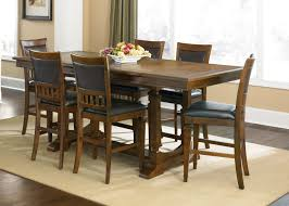 Tall Dining Room Sets Bar Height Kitchen Table And Chairs Counter Height Kitchen Table