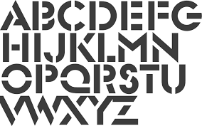 Stencil Fonts Idea For Abc Quilt Stencil Fonts Graphic Obsession