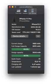 Batteries will start at 100 per cent when first activated and will have a lower. Iphone 11 Pro 96 Battery Health Macrumors Forums
