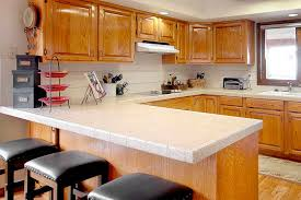 kitchen types of countertops with wood stool how to cost of diffe types of kitchen countertops