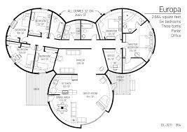 floor plan dl 3211 monolithic dome institute