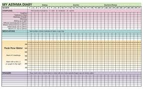Asthma Zone Chart How To Manage Your Asthma The Lung Association