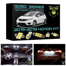 2015 Honda Civic Led Interior Lights Amazon Com Fyre Flys 6 Piece White Led Interior Lights For