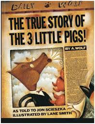 everybody knows the story of the three little pigs or at least they think they do that s how alexander t wolf starts off his first person narrative of