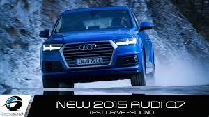 New Audi Q7 3.0 TFSI S-line | TEST DRIVE - EXHAUST SOUND - YouTube