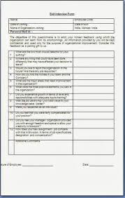 Exit Interview Questions Template - Exit Interview Template Cyberuse ...