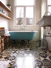 Patterned Floor Tiles Bathroom 20 Great Pictures And Ideas Of Vintage Bathroom Floor Tile Patterns