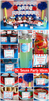 Dr Seuss Party Decorations Dr Seuss Birthday Party Ideas Moms Munchkins