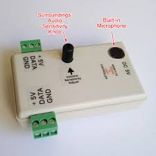 Sound To Light Controller 5v Ws2811 Ws2812 Sound To Light Controller Up To 120