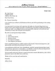 Sample Finance Internship Cover Letter Finance Internship Cover Letter Sample