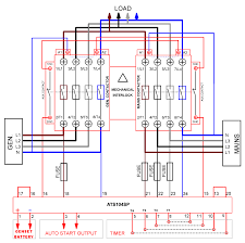 transfer switch wiring diagram generator automatic transfer switch wiring diagram generator automatic transfer switch circuit diagram pdf wirdig on generator
