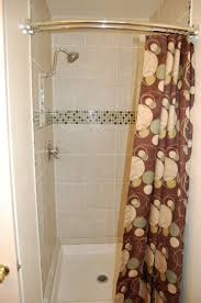 Small Shower Stall Curtain Rod