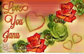 Love You Janu - SmitCreation.com