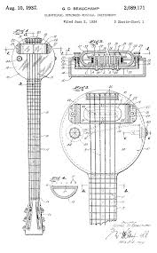 behold the first electric guitar the 1931 frying pan open culture frying pan schematic