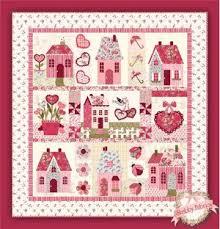 Sweetheart Houses Pattern from Shabby Fabrics | FaveQuilts.com & Sweetheart Houses Pattern Sweetheart Houses Quilt Pattern Adamdwight.com