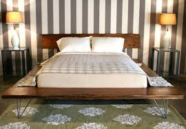 Cheap Queen Platform Bed Gallery Also Frameand Solid Pictures Frame And  Reclaimed Wood With Hairpin Legs Bases