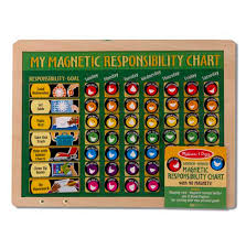 Melissa Doug Magnetic Responsibility Chart Educational