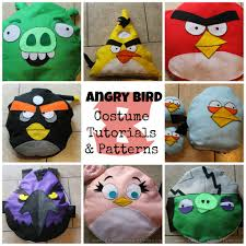 Angry Birds Costume Tutorial and Patterns » Homemade Heather