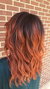 Zrzavé Vlasy Balayage