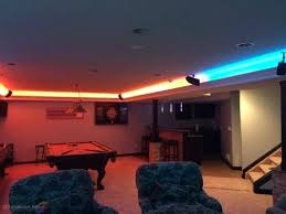 gameroom lighting. Photo 2 Of 8 Man Cave Game Room Led Lighting Contemporary Family Ceiling Lights Gameroom