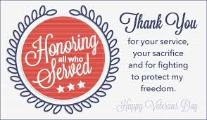 Free E Cards Thank You Thank You Happy Veterans Day 2018 Greeting Cards Sayings
