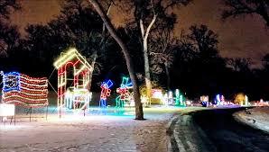 Lindenwood Park Fargo Christmas Lights The Best Drive Thru Light Show In North Dakota Christmas 2018