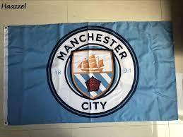 3ft x 5ft 3 x5ft Rare Manchester City Flag Football Club Polyester banner  flag Size 150*90cm|Flags, Banners & Accessories