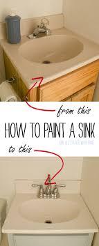 Sink Enamel Paint Best 25 How To Repair Sinks Ideas On Pinterest Painting