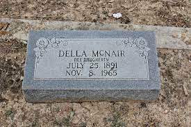 Lue Della Daugherty McNair (1891-1965) - Find A Grave Memorial