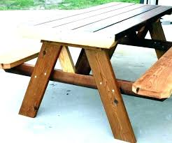 round picnic table plans for wooden plan folding 2x6 with picnic tables plans