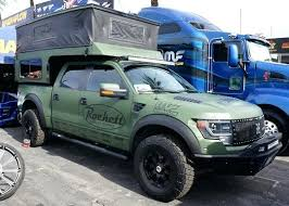 Truck Pop Up Tent Camper By Phoenix Pop Up Truck Camper With Tent ...