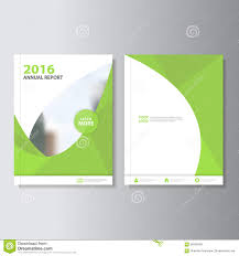Eco Design Book Eco Green Vector Annual Report Leaflet Brochure Flyer