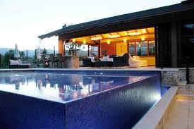 Pool Complex Double Edge Infinity Pool