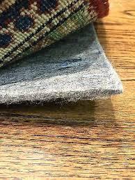felt pad for area rug 2 of 4 genuine 1 4 inch felt area rug pad