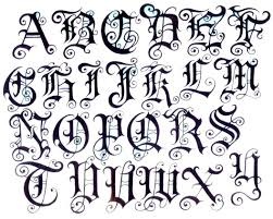 Lettering Letters Design Images For Letters Design Tattoo Tattoo Lettering Styles
