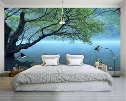 3d wall designs bedroom. Simple Bedroom Beibehang Custom Photo Wallpaper Modern 3D Tree Landscape Art Design  Bedroom Office Living Room To 3d Wall Designs Bedroom D