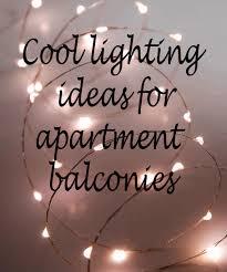 Balcony lighting Night Cool Apartment Balcony Lighting Ideas Annsliee Cool Apartment Balcony Lighting Ideas Annsliee