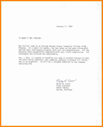 6 Example Of Recommendation Letter For Job Buyer Resume