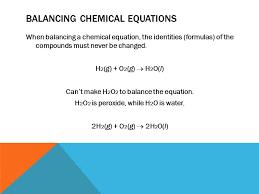 10 balancing chemical equations