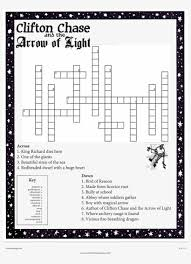 Day Light Crossword Crossword Puzzle From Clifton Chase And The Arrow Of