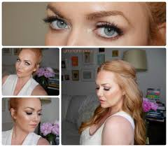 bridal makeup full face tutorial for redheads and strawberry blondes