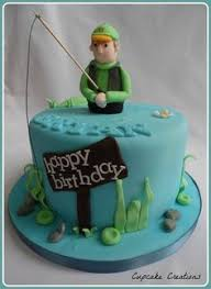 75 Best Fishing Cakes Images Fishing Cakes Pies Birthday Cakes