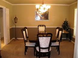 paint for dining room intended for dining room color schemes chair rail
