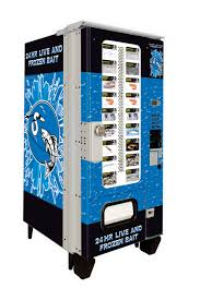 Used Live Bait Vending Machine For Sale Mesmerizing Live Bait Vending The Future In Selling Bait Today