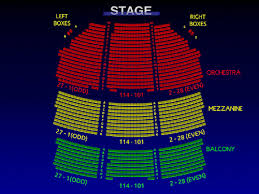 Shubert Theater Nyc Seating Chart Shubert Theatre Matilda Interactive Broadway Seating Chart